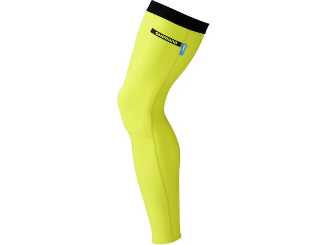 Shimano Beinlinge neon yellow